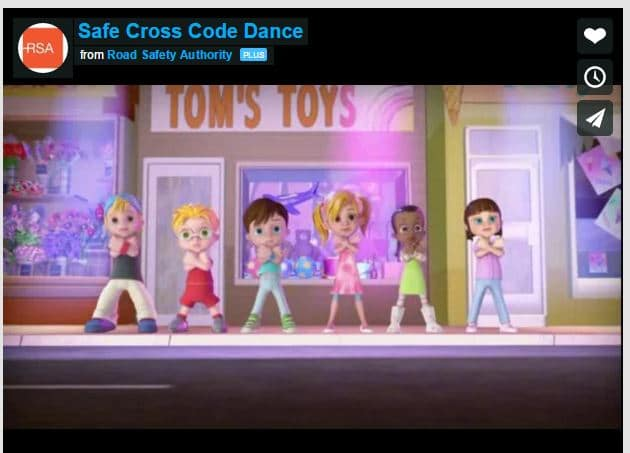 Safe Cross Code Dance