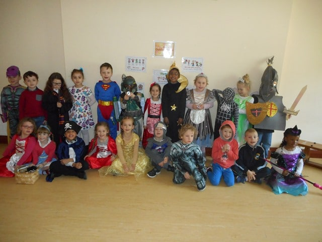 Senior Infants Room 7: World Book Day